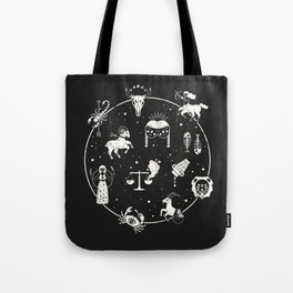 Strange Fortunes: Midnight Tote Bag