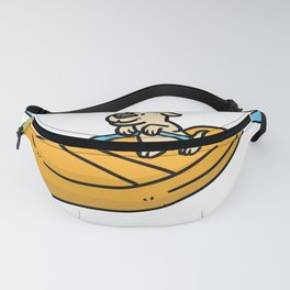 rafting gift raft dinghy raft whitewater Fanny Pack