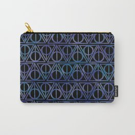 Triangles Carry-All Pouch