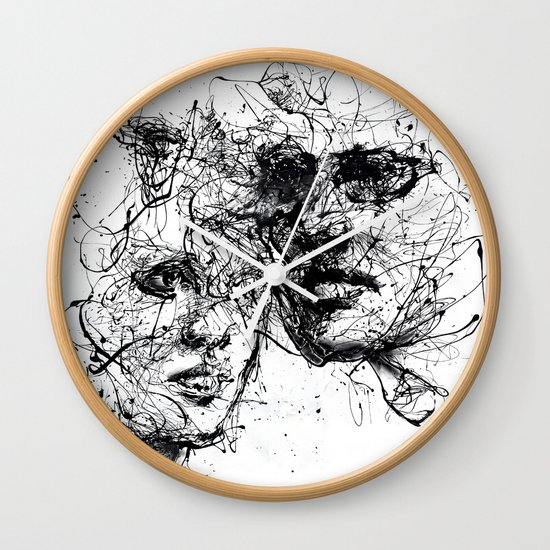 our lines, our story, it isn't a linear path Wall Clock