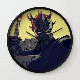 Savage Opress Wall Clock