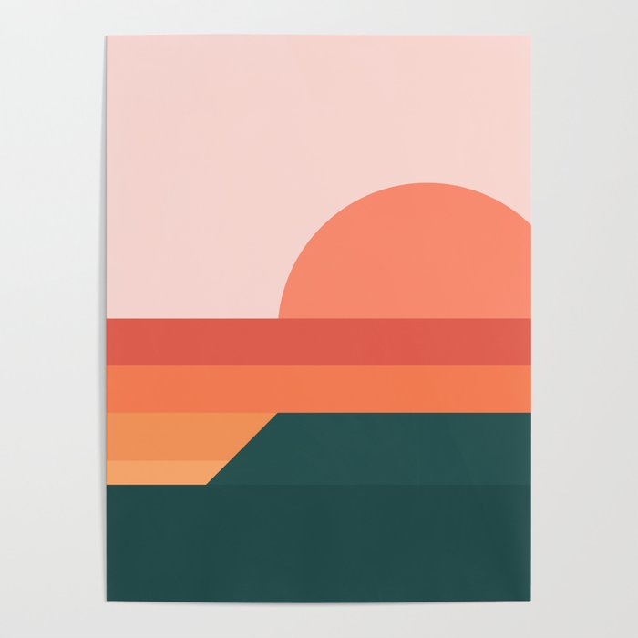 Sunseeker 08 Landscape Poster