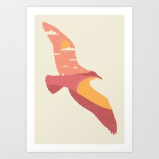 Larus Sinus Art Print