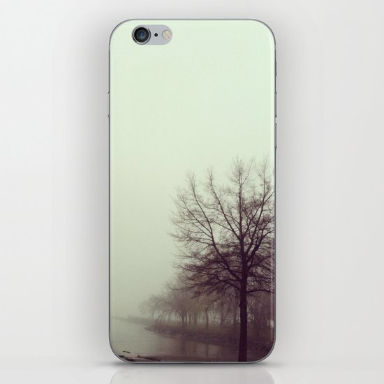 foggy morning iPhone & iPod Skin