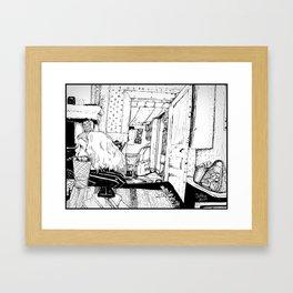 Siri i Lindmon Framed Art Print