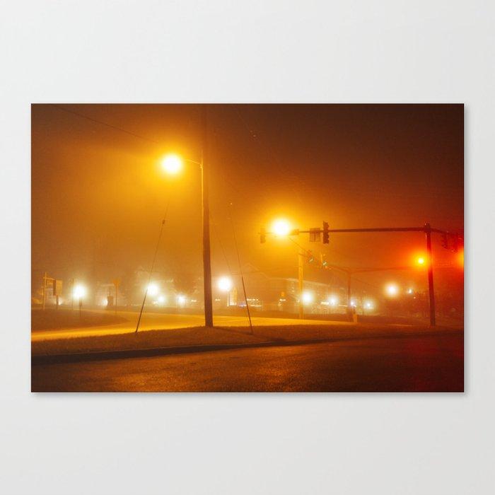 Midnight Walk Canvas Print