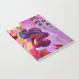Neon Koi Notebook