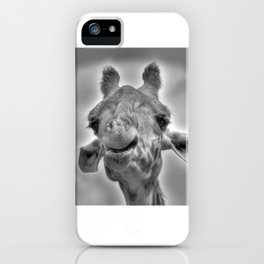 Smiling Giraffe iPhone Case