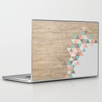 geometric Laptop & iPad Skins featuring Archiwoo by Marta Li