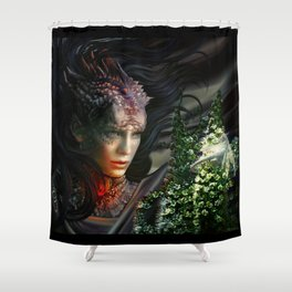 Dragons Shower Curtain