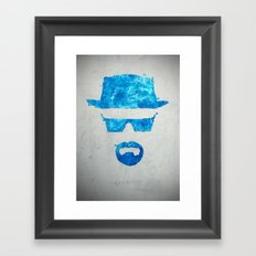 Say my name Framed Art Print