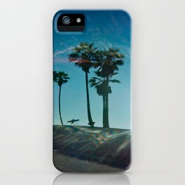 The solo surfer iPhone Case