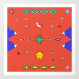South America Dreaming Art Print