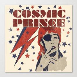 COSMIC PRINCE BEIGE Canvas Print