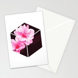 Peach Blossom Hoa Dao Tet Vietnam Stationery Cards