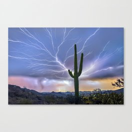 The Deluxe Arizona Monsoon Package Canvas Print