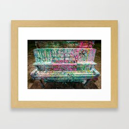 The Piano Framed Art Print