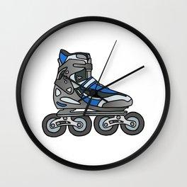 Inline skates Wall Clock