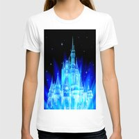 fairy tale T-shirts featuring Fairy Tale Castle by Whimsy Romance & Fun