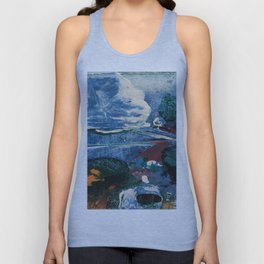 Mini World Environmental Blues 2 Unisex Tank Top