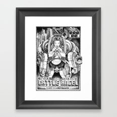 Battle Angel Framed Art Print