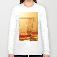 whiskey Long Sleeve T-shirts featuring Whiskey by Vishal Wadhwani
