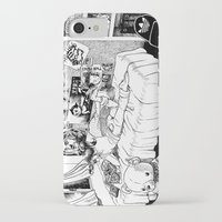hobbes iPhone & iPod Cases featuring Chicle. by Samuel Guerrero
