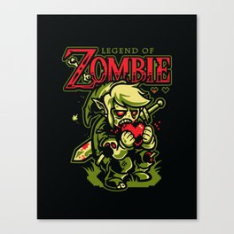 Legend of Zombie Canvas Print
