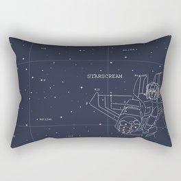 Starscream Star Chart Rectangular Pillow
