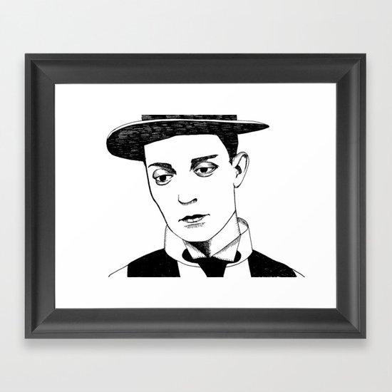 buster Framed Art Print