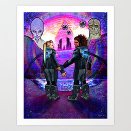 The Creators Art Print