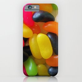 Licorice Jelly Beans iPhone Case