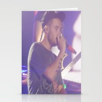 liam payne Stationery Cards featuring Liam Payne by Halle