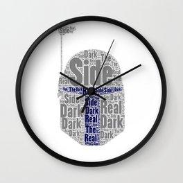 The real dark side - Jango Wall Clock