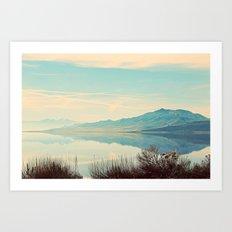 REFLECTIN' Art Print