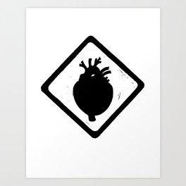 Heart Sign Art Print