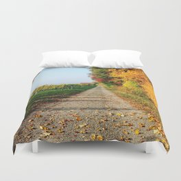Autumn Chemin Nature Duvet Cover