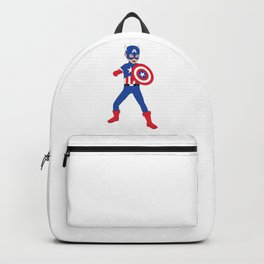 Little Cap. America Backpack
