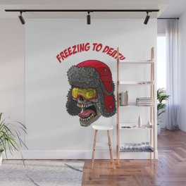Freezing to death Wall Mural