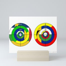 Targets 08 Mini Art Print