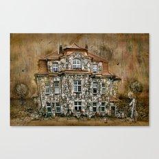 Townhouse Living Canvas Print