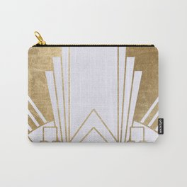 Art Deco design - blonde Carry-All Pouch