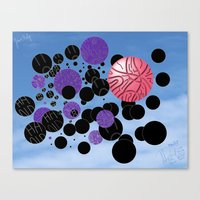 novelty Canvas Prints featuring Novelty by David Nuh Omar