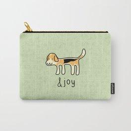 Cute Beagle Dog &joy Doodle Carry-All Pouch