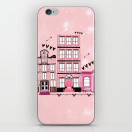 French Cafe Strip iPhone Skin