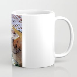 Easter Cheese Plate Coffee Mug