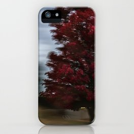 STUDY IN RED iPhone Case