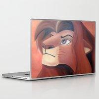 simba Laptop & iPad Skins featuring Simba by Jgarciat
