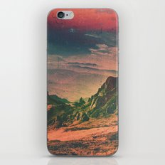 Psychedelic Planet iPhone & iPod Skin