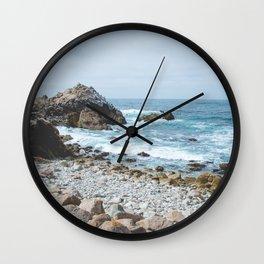 The Restless Sea - Californian Coast Wall Clock